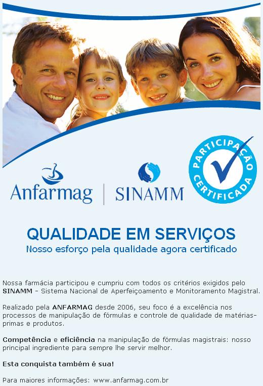 Certificado Anfarmag